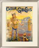 Elixir Gaulois Framed Giclee Print by Geo Blott