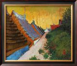 Farmhouses at Saintes-Maries, June 1888 Posters by Vincent van Gogh
