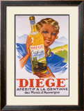 Diege Framed Giclee Print by Henry Le Monnier