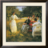 In the Orchard, 1891 Posters by Edmund Charles Tarbell