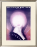 1981 Cannes International Film Festival Poster Framed Giclee Print