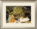 Dejeuner Sur l&#39;Herbe Prints by Claude Monet