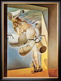 Young Virgin Auto-Sodomized by Her Own Chastity, c.1954 Prints by Salvador Dalí