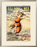 Boulogne s. Mer Framed Giclee Print by George Redon