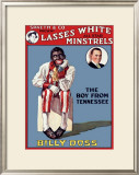 Lasses' White All Star Minstrels Framed Giclee Print