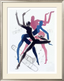 Jazz Dance, 1937 Framed Giclee Print