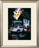 New York Icons Print by Christophe Susbielles