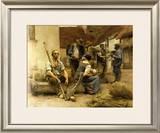 La Paye des Moissonneurs, c.1882 Poster by Léon Augustin L'hermitte