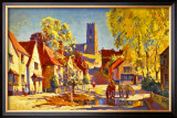 Suffolk, BR poster, circa 1950s Framed Giclee Print by Jack Merriott