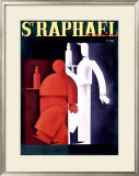 St. Raphael, Quinquina Framed Giclee Print by Charles Loupot