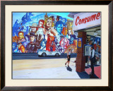 Movie Star Mural Prints by Alain Bertrand