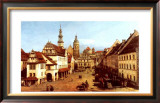 Der Marktplatz Zu Pirna Posters by Bernardo Belotto