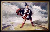 LNER, Western Highlands Framed Giclee Print