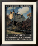 Chateau de Loches Framed Giclee Print by Constant Leon Duval