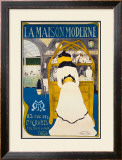 La Maison Moderne Framed Giclee Print by Maurice Biair