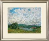 Bords de la Seine Poster by Alfred Sisley