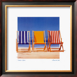 Summer Stripes Prints by B. Walsh