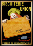 Biscuiterie Union Framed Giclee Print by Leonetto Cappiello