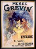 Musee Grevin, Fantoches de John Hewelt Framed Giclee Print by Jules Chéret