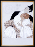 Bal de la Couture Maquette Framed Giclee Print by Georges Lepape