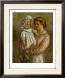 Claude and Renee Posters by Pierre-Auguste Renoir