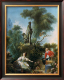 La Surprise Prints by Jean-Honoré Fragonard