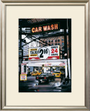 Monument Car Wash Prints by Christophe Susbielles