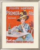 Absinthe Superieur Framed Giclee Print by  Van Der Thurm