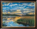 Sunset, Seal Harbor, Maine Print by Arthur Chartow