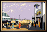 Great Yarmouth & Gorleston on Sea Framed Giclee Print by Henry George Gawthorn