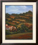 Italian Countryside II Print by Vivien Rhyan