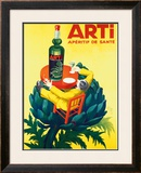 Aperitif Arti Framed Giclee Print by  Robys (Robert Wolff)