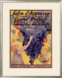 Slon d'Automne Framed Giclee Print by  Marval