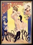 Folies Bergere Framed Giclee Print by Alfred Choubrac