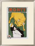 Beurre Monty Lámina giclée enmarcada por E. Paul Villefroy
