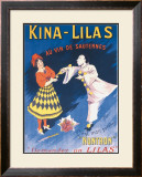 Kina Lilas Framed Giclee Print by H. Perra