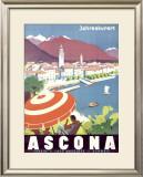 Ascona Swiss Framed Giclee Print