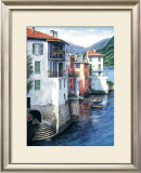 Vista di Lago Print by Barbara R. Felisky