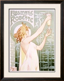Absinthe Robette Framed Giclee Print by Privat Livemont