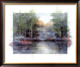 Lakeside Reflections Prints by Tan Chun