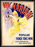 Cheret Vin Mariani Tonic Framed Giclee Print by Jules Chéret