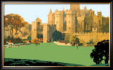Alnwick Castle Framed Giclee Print by Fred Taylor