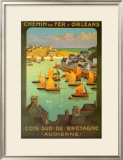 Chemi De Fer Dorleans Posters by  Alo (Charles-Jean Hallo)