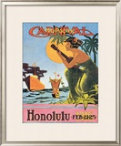 Mid-Pacific Carnival, Honolulu, 1916 Prints