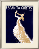 Espanita Cortez Framed Giclee Print by Paul Colin