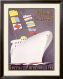 Swedish American Ocean Line Framed Giclee Print