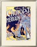 Chocolat Mexicain, Masson Framed Giclee Print by Eugene Grasset