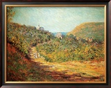 Petites Dalles, c.1884 Posters by Claude Monet