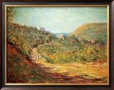 Petites Dalles, c.1884 Posters by Claude Monet