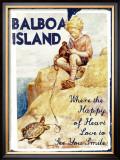 Balboa Island Framed Giclee Print